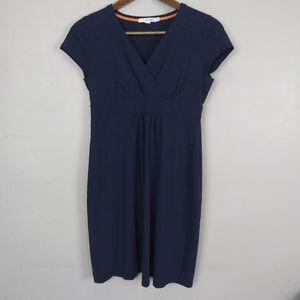 Boden Navy Blue Jersey Knit Midi Dress